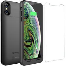 Alpatronix BXXt Max 3500mAh Slim iPhone XS Max Qi Wireless Battery Charging Case
