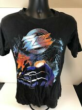 Zz Top Vintage Shirt Medium 1990 Lone Wolf Productions Recycler Tour