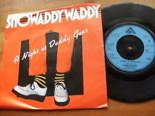 SHOWADDYWADDY<1979>A NIGHT AT DADDY GEES<45rpm VINYL SINGLE 7ins JUKEBOX