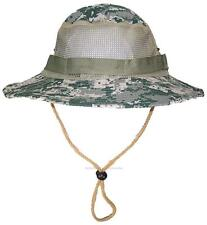 Tropic Hats Adult Camouflage Ripstop Boonie W/Mesh #905 Universal Digital