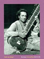 PHOTO DE PRESSE : RAVI SHANKAR MUSICIEN SITARISTE COMPOSITEUR INDIEN, 1984 -M278