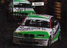 Autógrafo en foto 13x18 cm macao 2001 duncan Huisman-BMW 320i