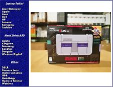 Nintendo New 3DS XL Super NES Edition + Super Mario Kart for SNES, No adapter