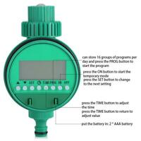 Automatico Programmatore Irrigazione Digitale Centralina Timer Per Giardino