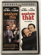 Analyze That/Analyze This 2-Pack (DVD, 2007, 2-Disc Set)