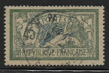 France Scott #122, Single 1906 FVF Used