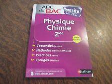ABC du BAC physique-chimie 2de (nouveau programme)