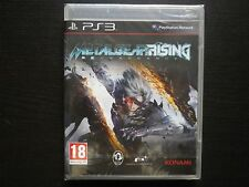 METAL GEAR RISING REVENGANCE : JEU Sony PLAYSTATION 3 PS3 (Konami NEUF suivi)