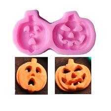 Halloween Pumpkin Silicone Sugar Craft DIY Candy Chocolate DIY Decorating Mold