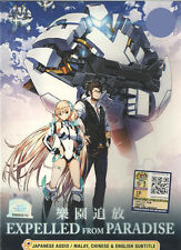 DVD Expelled from Paradise ( Anime Movie ) with English SUB