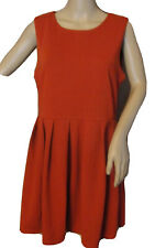 FOREVER 21 Size Large Contemporary Burnt Orange Dress