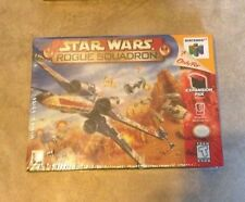 Star Wars Rogue Squadron New Factory Sealed Nintendo 64