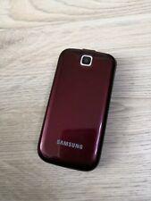 "Samsung C3590 2.4"" 1GB, 2MP Unlcoked Flip Phone - Red"