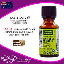 Thursday Plantation Tea Tree Oil - 100% Pure Natural Antiseptic Melaleuca Oil
