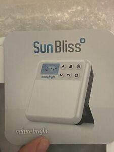 Nature Bright Sun Bliss Pro Portable  Light Therapy  Lamp