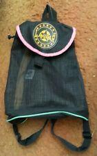 Cute Retro Old School Vintage La Gear Backpack Black Pink Lime Green Yellow