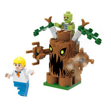 Fred Zombie Minifigures Scooby Doo Character Building Block Toy Kids Gift