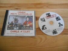 CD Blues Charlie DA'Court - Canada Meets Gunterblum (2 Song) Promo PRIVATE PRESS