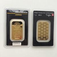 1 Lingot COLLECTION gold plated
