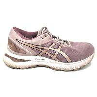 Asics Gel-Nimbus 22 Running Shoes Womens Size 7.5 7 1/2 NO INSOLES Pink Sneakers