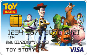 Toy Story Novelty Plastic Credit Card