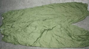 BRITISH ARMY ISSUE REVERSIBLE THERMAL TROUSERS MEDIUM  GREEN/SAND
