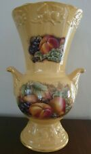Aynsley Orchard Gold Limited Edition Millennium Thistle Vase with box