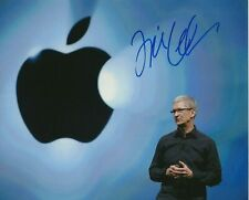 TIM COOK hand signed 8x10 JSA certified - APPLE