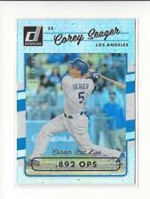 2017 Donruss Stat Line Career #106 Corey Seager Dodgers /500