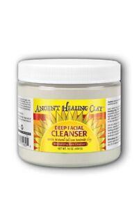 Ancient Healing Clay Deep Facial Cleanser 100% Natural Calcium Bentonite Clay 45