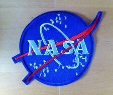 NASA Space Agency Logo Fancy Dress Iron Sew On Patch Badge Transfer Motif