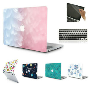 3in1 Hard Shell Case Cover Keyboard Skin for MacBook Air Pro 11 13 15 & M1 CPU
