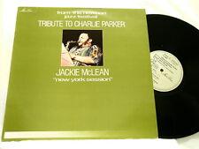 JACKIE McLEAN Tribute to Charlie Parker Max Roach Sonny Stitt J J Johnson LP