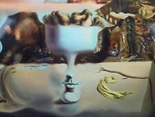 Mounted Print Apparition of FRUIT FACE BEACH Surrialism Spain artist DALI 1938