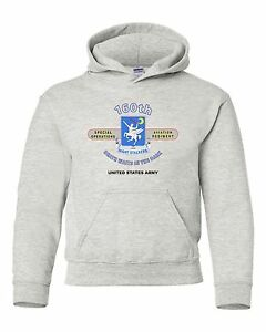 """160TH SPECIAL OPERATIONS REGIMENT """" NIGHT STALKERS """" CAMPAIGN HOODIE W/POCKETS"""