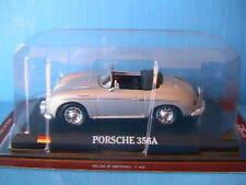 PORSCHE 356A CABRIOLET DELPRADO 1/43 SILVER DELPRADO