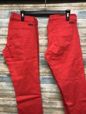 Lot of 2 Lucky Brand Sweet & Crop Women's Stretch Jeans 8 x 25       (A-85)