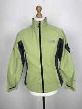 Vintage The North Face Windstopper Para Mujer chaqueta de cáscara suave Verde Grande