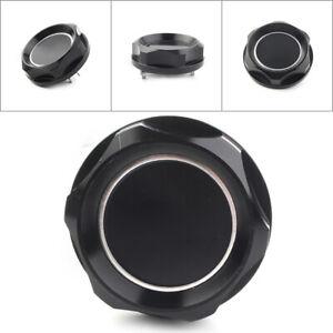 Aluminum Oil Filler Cap Fuel Tank Cover Black Mitsubishi Billet Engine New Black