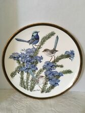 Vintage Franklin Porcelain, Songbirds Of The World, Wedgewood Plate