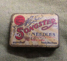 #D291. EMPTY  SONGSTER  GRAMMOPHONE NEEDLE  TIN