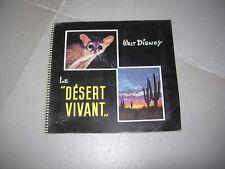 "album chromos le ""désert vivant"" walt disney"