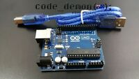 Arduino Compatible Uno R3 with USB Cable + FREE SHIPPING FROM BRISBANE AU