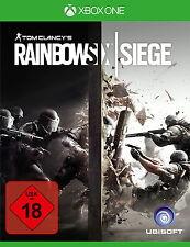 Tom Clancy's Rainbow Six: Siege (Microsoft Xbox One, 2015, DVD-Box)
