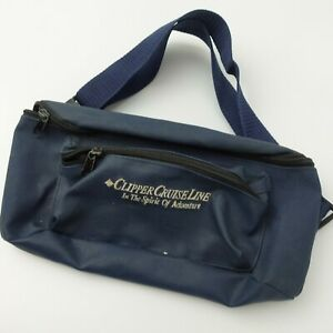 Vintage Clipper Cruise Line In The Spirit of Adventure Waist Bag Fanny Pack