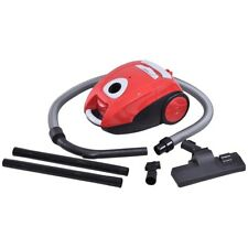 Home Room Bagged Cord Rewind Canister Vacuum Clean with Washable Filter Cleaner