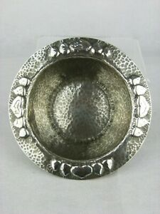 A Rare Liberty & Co Hand Wrought Tudric Pewter Bowl by Archibald Knox