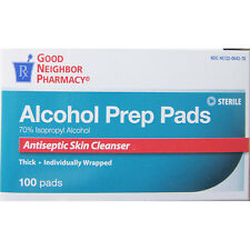 GNP Alcohol Prep Pads  100 count