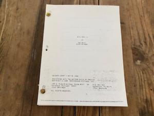 Evil Dead II movie script - Sam Raimi, Scott Spiegel 1986