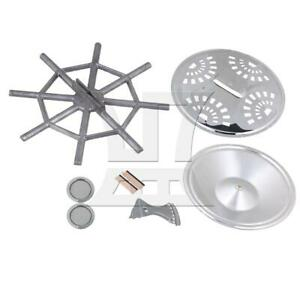 Silver Metal Dobro Guitar Accessories Kit Musical Tool Parts Accessories
